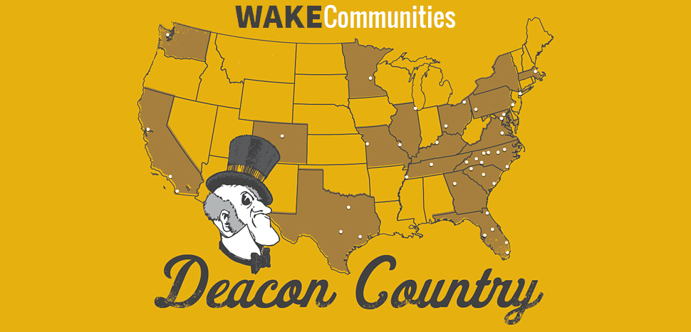 Wake Communities map